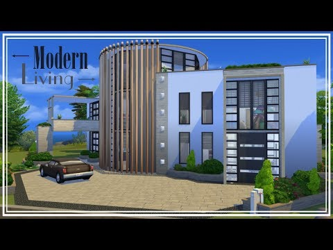 The Sims 4 - House Build - Modern Living Part 2