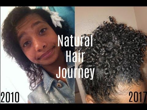 Natural Hair Journey  Tatyana Celeste ❤︎