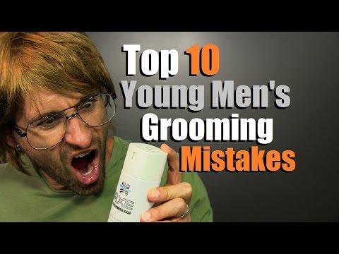 TOP 10 Teen Grooming Mistakes | Young Men's Grooming DISASTERS