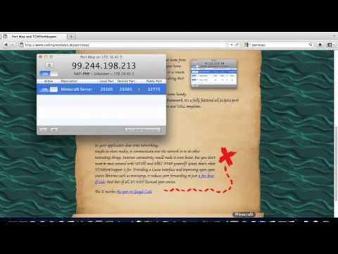Minecraft - How to Port Forward a Server (Tutorial) Mac
