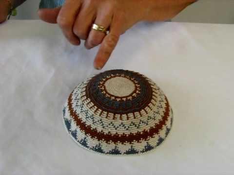Crocheted Kosher Kippah
