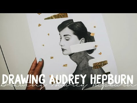 Drawing Audrey Hepburn | Amaya Jade