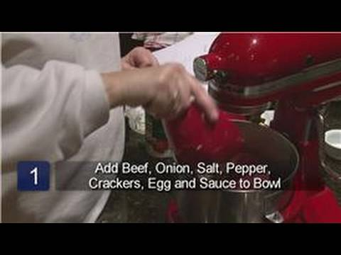 Meatloaf Recipes : How to Make Meatloaf With Eggs & Crackers