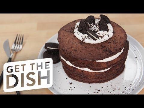 Oreo Pancakes   Get the Dish
