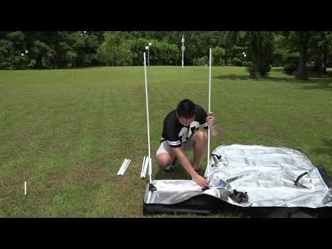Finether 60x60x140CM Hydroponic Grow Tent Hydro Box