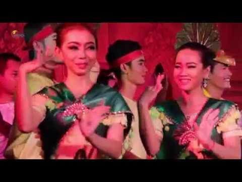 Cambodia traditional dance show call Chai Yam Dance