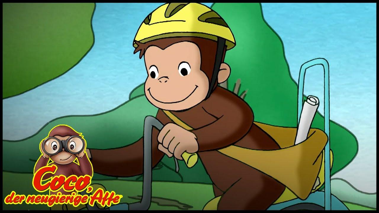 Coco der Neugierige | Cocos neues Fahrrad! | Cartoons für Kinder