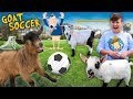 Download  FUNnel Goats play Soccer! (FV FAMILY Farm Song Vlog) MP3,3GP,MP4