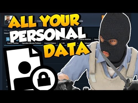 How to check all your personal CS:GO stats/data