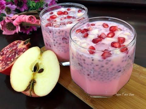 Rose Milk - Ramadan Drink |  റോസ് മിൽക്