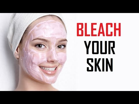 How To Lighten Your Skin Naturally At Home | How To Bleach Your Skin