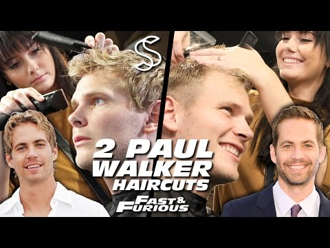 Paul Walker Hairstyle x 2 - Fast and Furious - Men's Hair