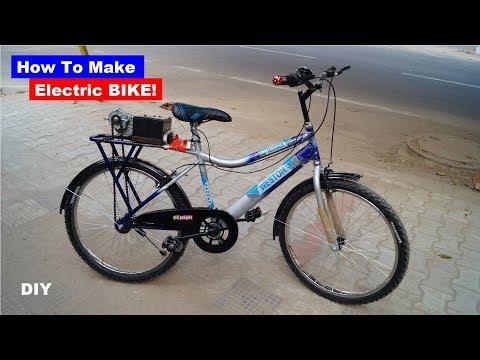 How to make electric Bike | Shamshad Maker