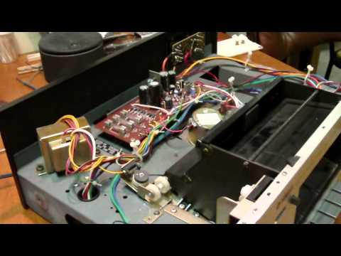 YAMAHA Stereo Cassette Deck TC-511S Repair Belt Replacement