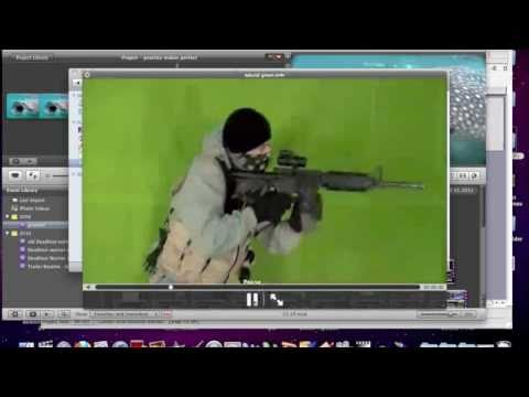 All Green Screen iMovie Issues Resolved Tutorial (Tut. 3 of 13)