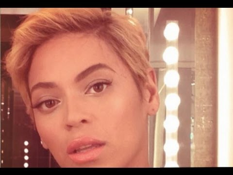 Beyonce Cuts Her Hair Off! New Pixie Cut Photos!