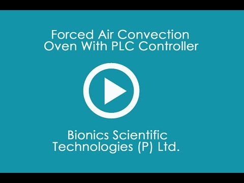 Forced Convection Hot Air Oven With PLC Controller