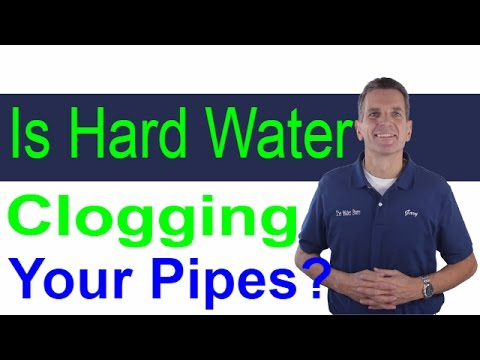 Is hard water clogging your pipes?  Midland, Ontario