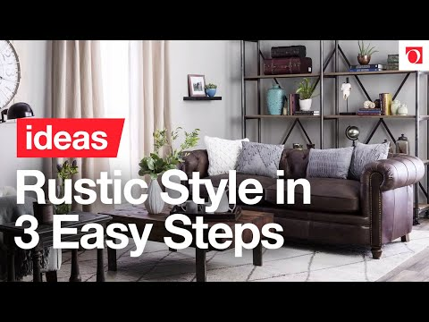 3 Easy Steps to Cozy Rustic Style - Overstock.com