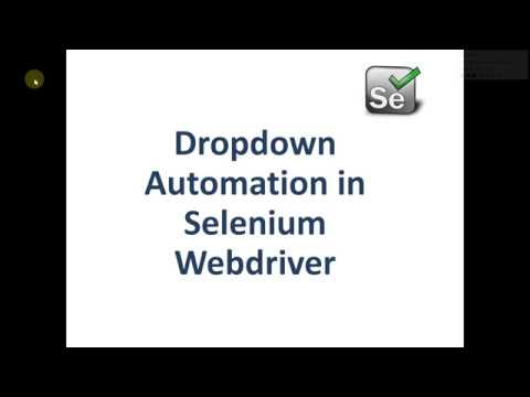 How To Select Dropdown Value in selenium webdriver java