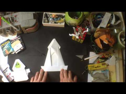 How to Fold Emperor Pickletine with Tom Angleberger