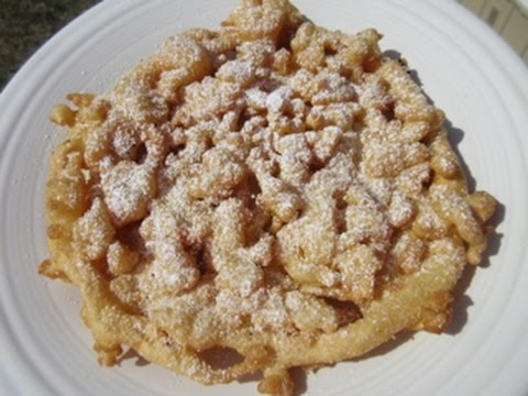 FUNNEL CAKE - How to make FUNNEL CAKES Demonstration