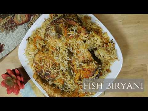 Fish Biryani Promo....Fatma's Kitchen