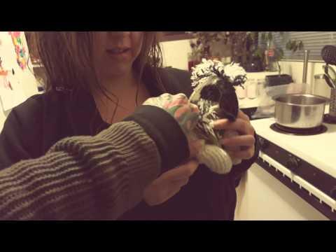 Crochet puppy dog pregnant stuffed animal cute