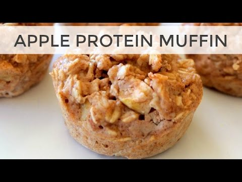 Apple Protein Muffin Recipe | FaceBook LIVE (with a special guest!)