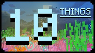 ✔ Minecraft: 10 Things That Were Never Added