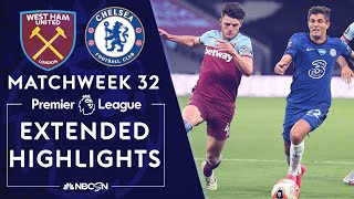 West Ham v. Chelsea | PREMIER LEAGUE HIGHLIGHTS | 7/1/2020 | NBC Sports