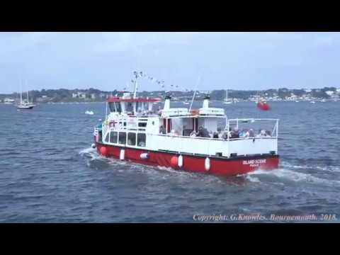 Brownsea Island Ferry trip June 2018, from Poole Quay, Poole, Dorset  England. ( 9 )