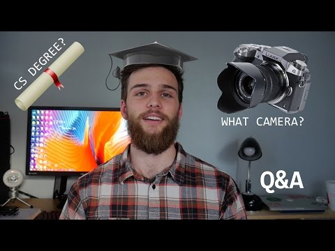 Is Computer Science a Good Major? iOS Development in 2017? Ask Me Anything Q&A