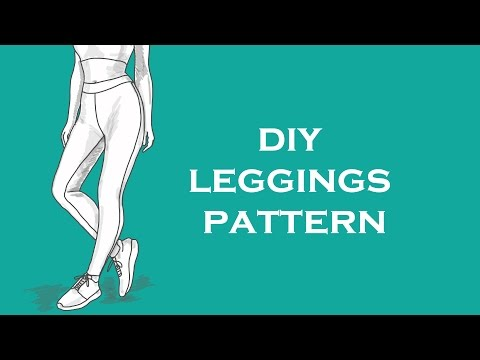 Making tailored leggings from scratch