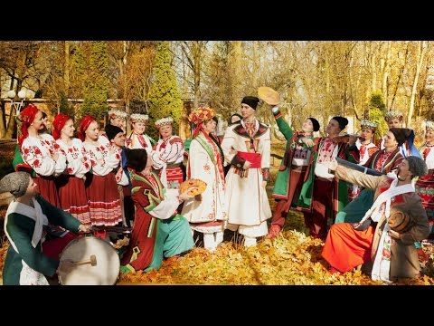 Ancient matrimonial traditions in small Ukrainian town