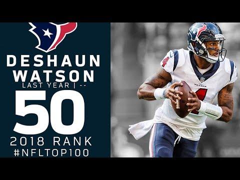 #50: Deshaun Watson (QB, Texans) | Top 100 Players of 2018 | NFL