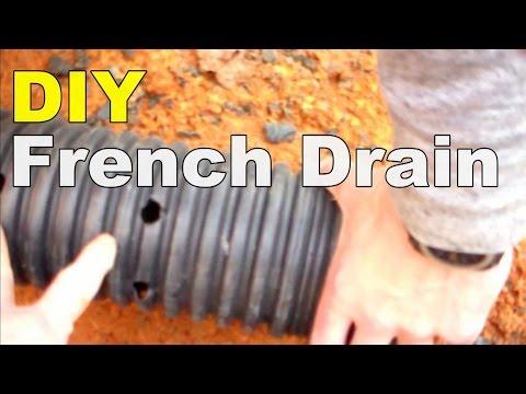 DIY FRENCH DRAIN