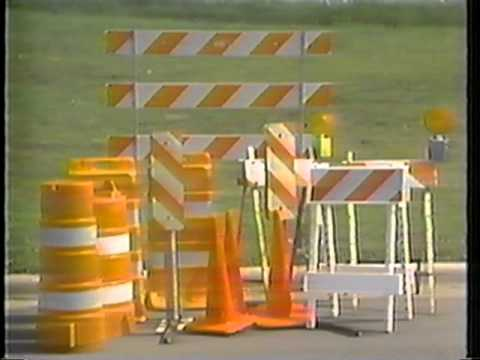 Work Zone Safety - Part 2 - Traffic Control Devices