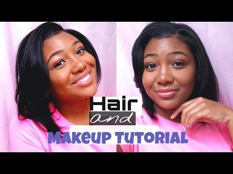 PERFECT HAIR & Everyday NATURAL MAKEUP | Summer Slay Tutorial!