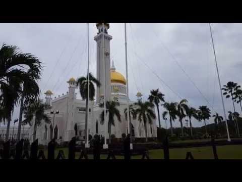 Call to prayer in BSB, Brunei