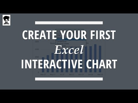 Create your first interactive chart in Excel in under 5 minutes