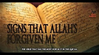 Signs That Allah Has Forgiven Me
