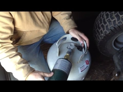 How To Refill 1lb Propane Tanks