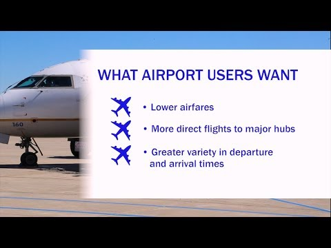Airport Customers Want Cheaper Fares