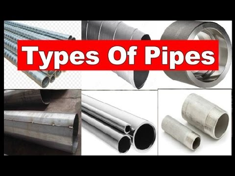 Types of Pipes   Piping Official