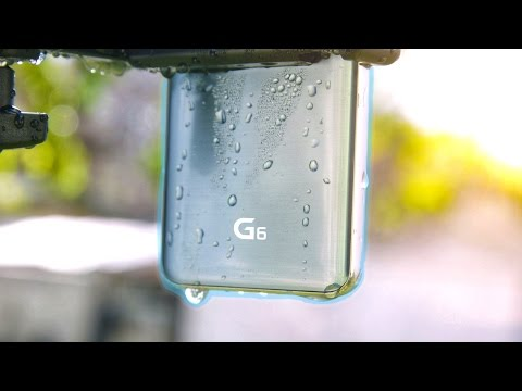 The Ultimate LG G6 Water Survival Test!