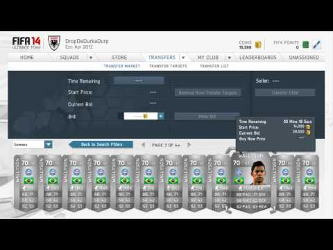 How To Trade In Fifa 14 | TRADING TIPS |#4 MAKE MILLIONS OF COINS!!!! | FIFA 14 ULTIMATE TEAM!