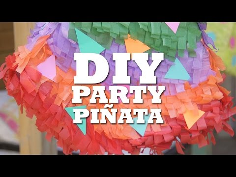 DIY Party Piñata