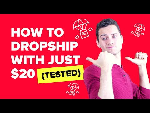 How to Start a Drop Shipping Business with Just $20 (in 5 simple steps!)
