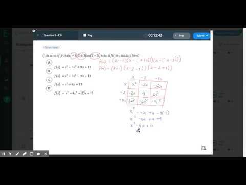 Writing Polynomial Equations